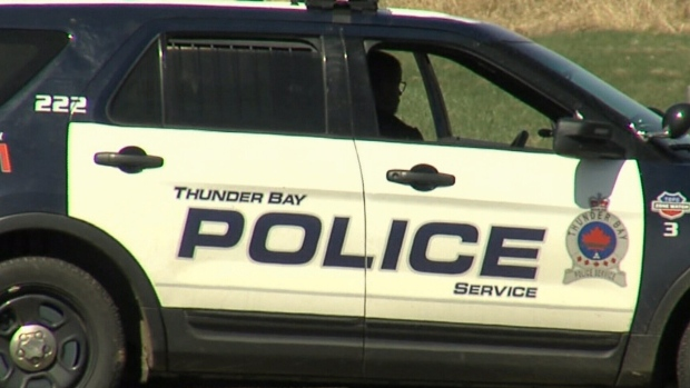 Thunder Bay Police Service vehicle