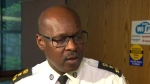 Toronto Police Chief Mark Saunders speaks with reporters Tuesday May 23, 2017.