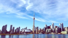 The Toronto skyline is pictured in this file photo. (Amara McLaughlin/CP24)
