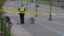 Lake Shore Boulevard child death