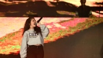 Alessia Cara, left, and Zedd perform at Wango Tango at StubHub Center on Saturday, May 13, 2017, in Carson, Calif. (Photo by Chris Pizzello/Invision/AP)
