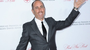 Jerry Seinfeld attends the 2015 Red Star Ball held at the Beverly Hilton Hotel on Thursday Oct. 22, 2015, in Beverly Hills, Calif. (Photo by Richard Shotwell/Invision/AP)