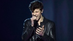 Shawn Mendes performs at the Juno awards show Sunday April 2, 2017 in Ottawa. THE CANADIAN PRESS/Sean Kilpatrick
