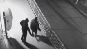 Two shooting suspects are seen in the Flemingdon Park area on April 13, 2017. (Toronto police)
