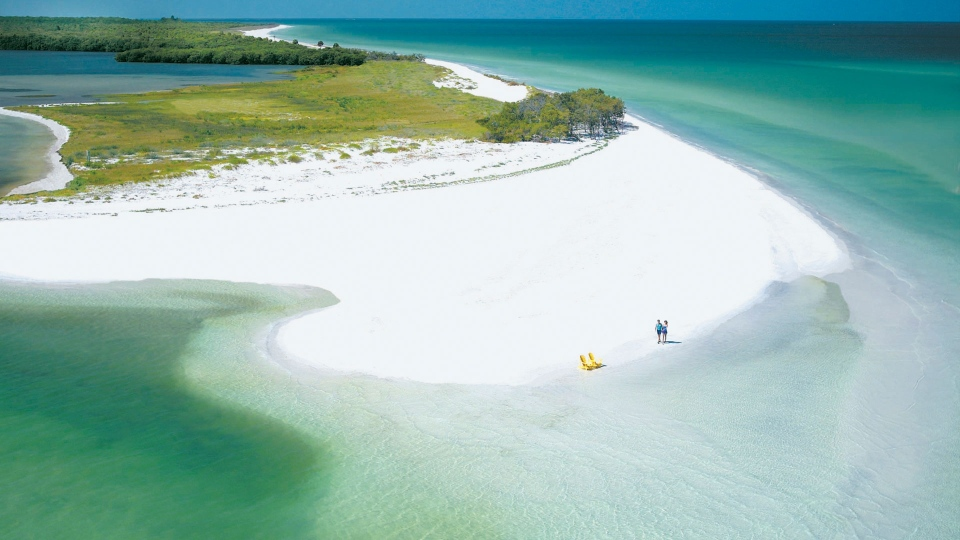 This undated photo provided by Visit Florida shows Caladesi Island State Park in Dunedin, Florida. The beach is No. 7 on the list of best beaches for the summer of 2017 compiled by Stephen Leatherman, also known as Dr. Beach, a professor at Florida International University. (St. Petersburg/Clearwater Area CVB via AP)