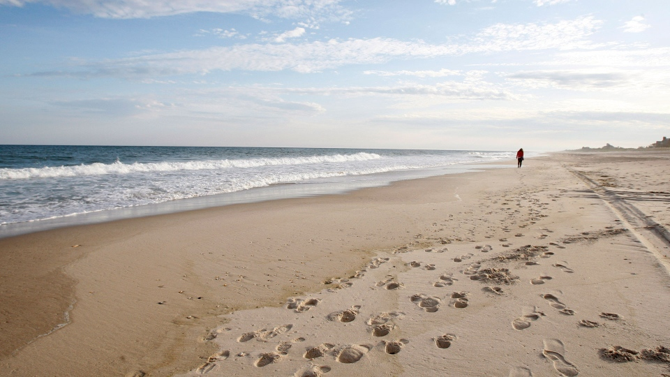 his May 13, 2010, file photo, shows Coopers Beach in Southampton, N.Y. Coopers Beach is No. 5 on the list of best beaches for the summer of 2017 compiled by Stephen Leatherman, also known as Dr. Beach, a professor at Florida International University. (AP Photo/Kathy Willens, File)