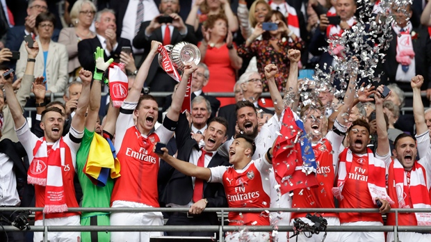 Arsenal defeat Chelsea in final to win English FA Cup