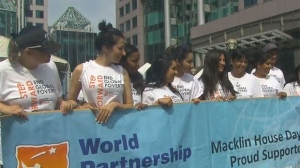 Road closures will be in place downtown for the World Partnership Walk.