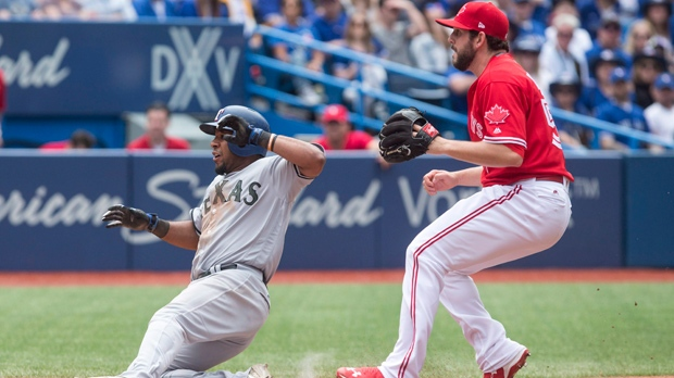 Bautista hits 3-run HR, Blue Jays beat Rangers 3-1
