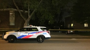No injuries were reported after a shot was fired into the window of a home in Lawrence Heights. (Mike Nguyen/ CP24)