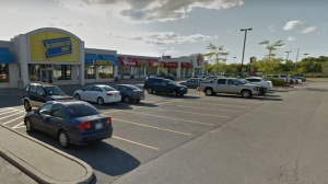Three 18-year-old men were stabbed outside this Subway in Ajax on Sunday night after a fight broke out between two groups of men. (Google)