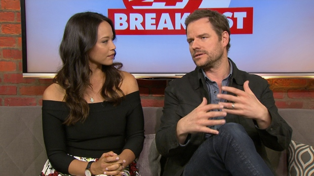 Two members of the 'Dark Matter' crew drop by | CP24.com