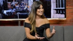 Lea Michele sits down for an interview with CP24 Wednesday June 7, 2017. (Chelsia Vona /CP24)