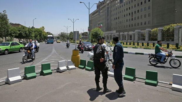 Iran guards: US, Saudis involved in Tehran attacks