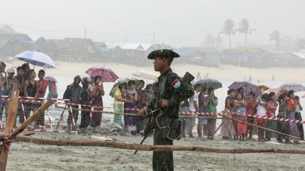 Wreckage of missing Myanmar military plane found