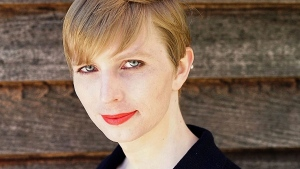 This undated file photo provided by Chelsea Manning shows a portrait of her that she posted on her Instagram account on Thursday, May 18, 2017. (Tim Travers Hawkins/Courtesy of Chelsea Manning via AP, File)