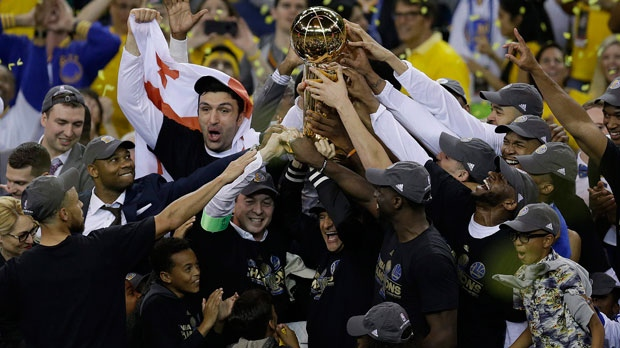 Stephen Curry, Kevin Durant lead Warriors to NBA title ...