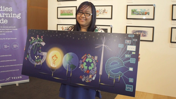 'Doodle 4 Google' contest winner Jana Sofia Panem