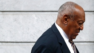 Bill Cosby arrives for jury deliberations in his sexual assault trial at the Montgomery County Courthouse in Norristown, Pa., Wednesday, June 14, 2017. (AP Photo/Patrick Semansky)