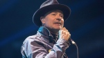 Gord Downie performs at WE Day in Toronto on Wednesday, October 19, 2016. Downie has been voted The Canadian Press Newsmaker of the Year for 2016. THE CANADIAN PRESS/Chris Young