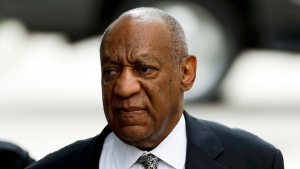 Bill Cosby arrives at the Montgomery County Courthouse during his sexual assault trial, Thursday, June 15, 2017, in Norristown, Pa. (Source: Matt Slocum/AP Photo)