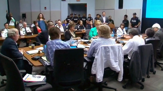 TPS board meeting on school resource officers