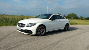car review Mercedes C63 autoshop