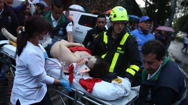 Colombia Offers Reward in Deadly Shopping Mall Bombing