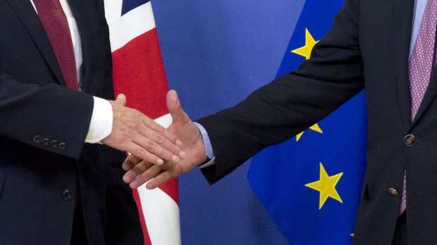 Britain tries to calm fears over European Union trade