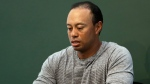 In this March 20, 2017, file photo, golfer Tiger Woods prepares to sign copies of his new book at a book signing in New York. (AP Photo/Seth Wenig, File)