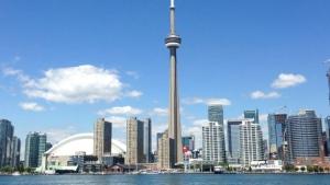 Toronto's skyline.