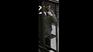 Police have released security camera images of a suspect wanted in connection with a stabbing at a Sherbourne Street apartment building. (Toronto Police Service handout)
