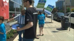 LCBO strike, job action