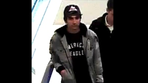 A suspect identified as Asif Choudhry is seen in a surveillance camera image. (York Regional Police)