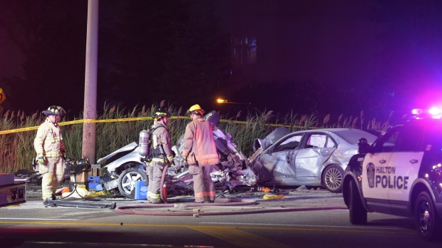 Two children among three people killed in Mississauga crash