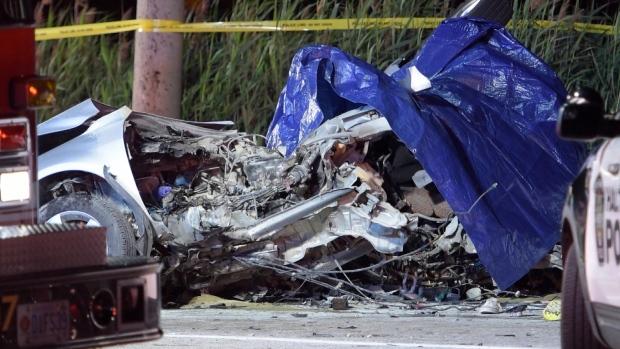 Sunday Car Accident Toronto