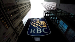 A Royal Bank of Canada sign is pictured in downtown Toronto on Dec. 2, 2011. (Nathan Denette/The Canadian Press)