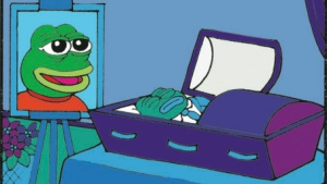 In this undated image released by Matt Furie, an illustration of Pepe the Frog is shown. Pepe the Frog is coming back from the dead. Los Angeles-based cartoonist Matt Furie told The Associated Press on Monday, June 26, 2017, that he intends to resurrect the character he killed off last month in what appeared to be a rebuke to racist, anti-Semitic internet trolls who hijacked his creation, transforming it into a hate symbol. (Matt Furie via AP)