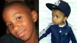 Keziah Edwards-Young, 13, left, and his nephew Ayon Brown, 5, right, were among three people killed in a head-on crash in Mississauga late Sunday night.  (Facebook)
