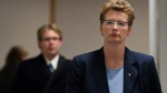 Controversial Peel Regional Police Chief Jennifer Evans is getting two more years on the job. (Darryl Dyck/The Canadian Press)