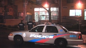 A male believed to be in his late teens was critically injured after a stabbing in Etobicoke on Thursday morning.