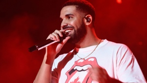 Drake performs at Nathan Phillips Square as part of Canada 150 celebrations Sunday July 2, 2017. (City of Toronto)
