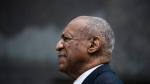 Bill Cosby exits the Montgomery County Courthouse after a mistrial in his sexual assault case in Norristown, Pa. on Saturday, June 17, 2017. (AP / Matt Rourke)