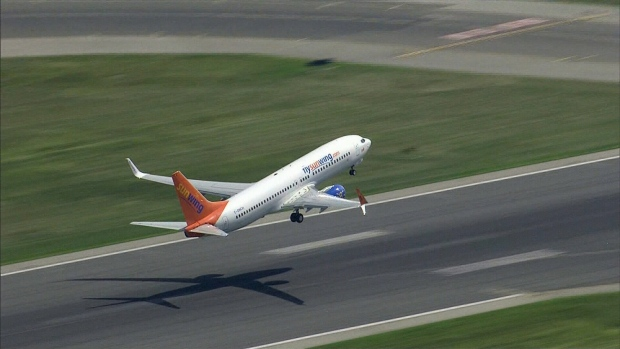 Man arrested on Sunwing flight published expletive-laden posts from Trudeau airport