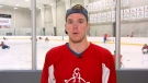 mcdavid, jump start, sledge hockey