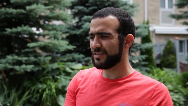 Alberta premier not weighing in on debate over Omar Khadr payout