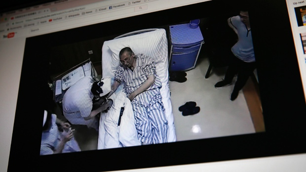 US, German doctors visit ill Chinese Nobel victor