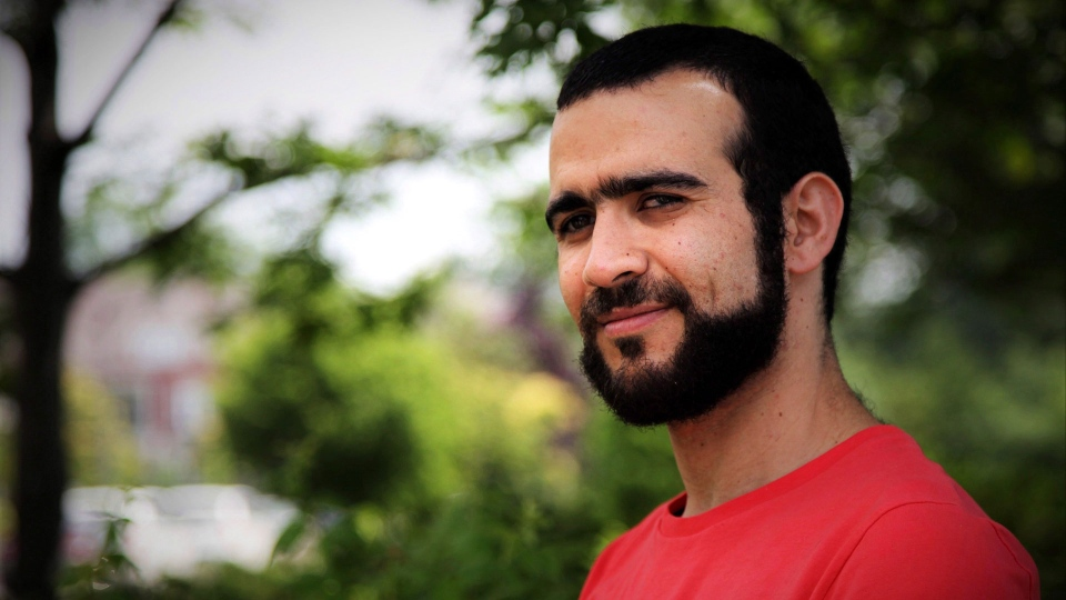 Former Guantanamo Bay prisoner Omar Khadr, 30, is seen in Mississauga, Ont., on Thursday, July 6, 2017. THE CANADIAN PRESS/Colin Perkel