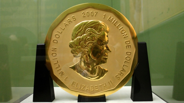 Germany makes arrests over theft of giant solid-gold coin
