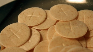 Communion wafers (Flickr/ awareness campaign)